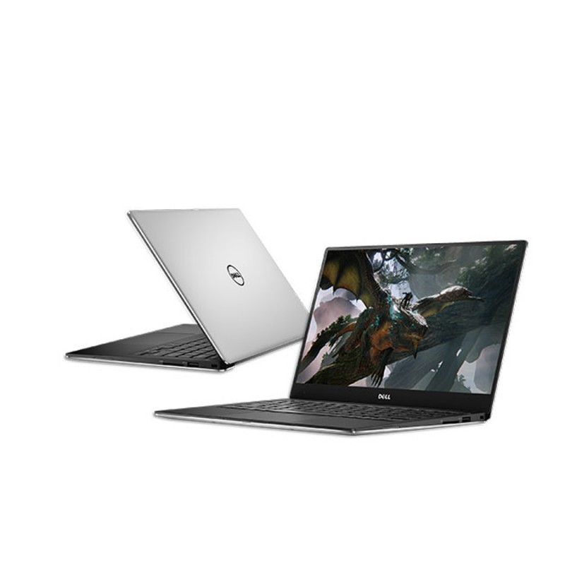Dell XPS 13 9370 i7-8650U 4.2GHz 1080p Infinity 512GB M.2 PCIe SSD 16GB RAM 2xThunderbolt/Backlit Windows 10 Professional SILVER - MFR