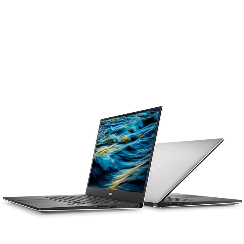 Dell XPS 15 9570 i7-8750H 4.1GHz FHD 8GB RAM 256GB M.2 PCIe SSD Nvidia 1050Ti Max Q Design Backlit Windows 10 Home SILVER - MFR