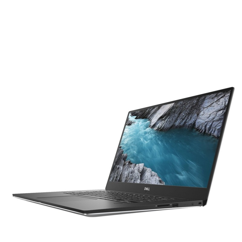 Dell XPS 15 9570 i7 8750H 4.1GHz 4K Touch 16GB RAM 512GB NVMe SSD Nvidia 1050Ti w/ Max Q Backlit Windows 10 Professional SILVER - MFR