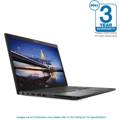 Dell Latitude 7480 1080P i7 7600U 256GB SSD 8GB RAM Backlit Thunderbolt Smartcard Contactless FiPS Windows 10 Professional - S&D