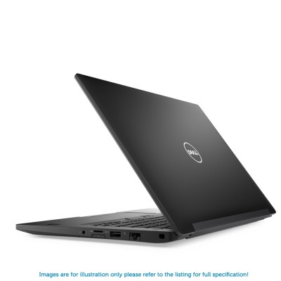 Dell Latitude 7390 1080p i5 8250U 3.40GHz 256GB SATA SSD 8GB RAM Camera/FIPS/Contactless/Smartcard/Qualcomm Snapdragon X7 LTE-A Windows 10 Professional - MFR