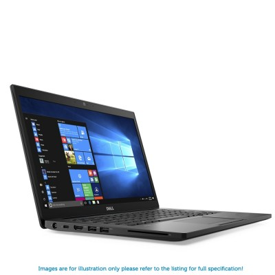 Dell Latitude 7490 1080P i5 8350U 256GB SSD 8GB RAM Backlit Windows 10 Professional - MFR