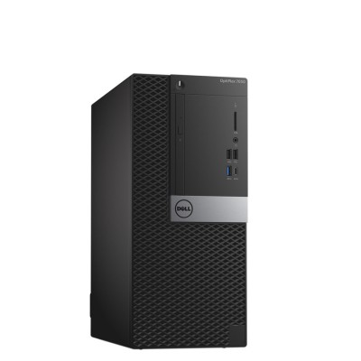 Dell Optiplex 7050 MT I7-7700 16GB RAM 2x1TB HDD DVD-RW Win 10 Professional - MFR