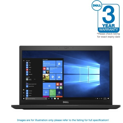 Dell Latitude 7480 1080P FHD i5 7200U 8GB RAM 256GB Backlit / Camera Windows 10 Professional - MFR