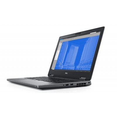 Dell Precision 7530 i7 8850H 4.30GHz 1080p Touch 6GB NVIDIA Quadro P3200 32GB RAM 512GB M.2 PCIe SSD 2xThunderbolt/Smartcard/FIPS/Contactless Windows 10 Professional - MFR